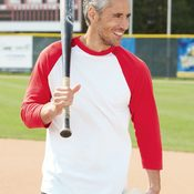 Augusta Sportswear Three-Quarter Sleeve Baseball Jersey